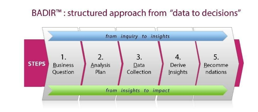 BADIR structured approach for text analytics
